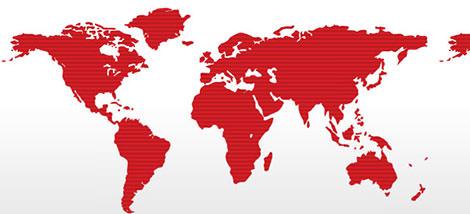 フリー世界地図。 world_map_12