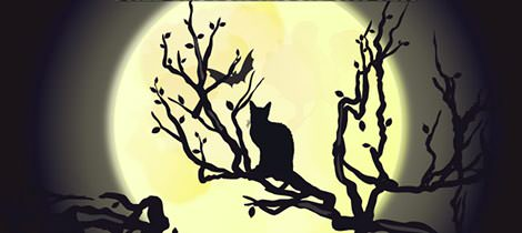 vector-moon-cat-art