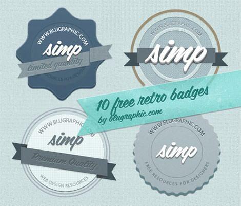 3-three-retro-badges