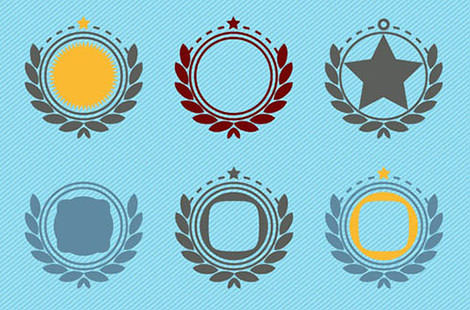12.vector-badge