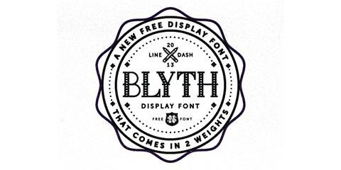 blyth_font