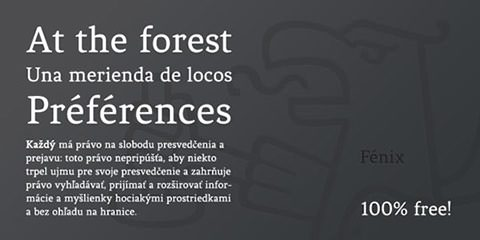 fenix_font