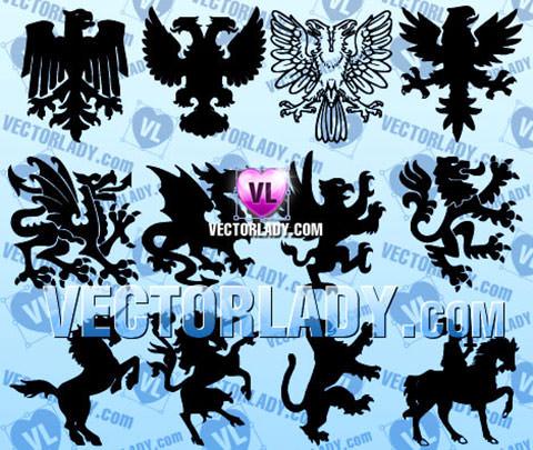 heraldic-animals