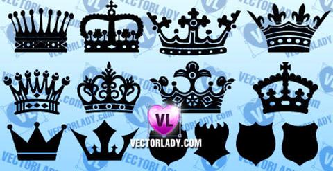 heraldic-crowns-shields