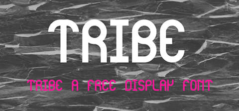 tribe_font