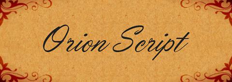 Orion+Script