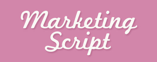 Calligraphy-MarketingScript