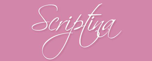 Calligraphy-Scriptina