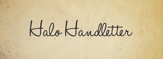 Halo-Handletter