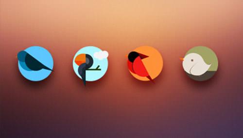 Icons-birds