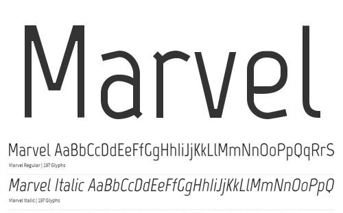 Marvel-Free-Fonts
