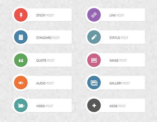 wordpress-post-format-icons