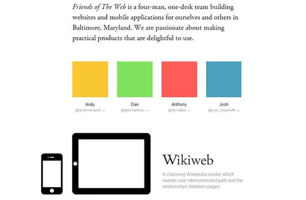 01-friends-ftw-web-design-flat-layout