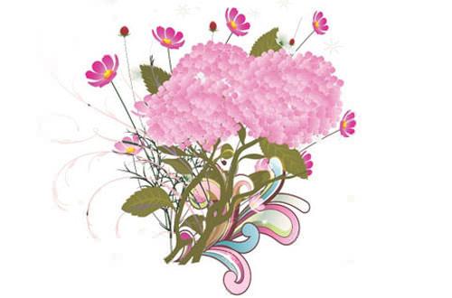 4.flower-vector1