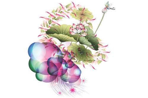 6.flower-vector1