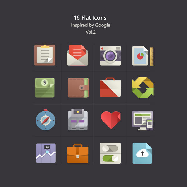 Flat-Icons-Inspired-by-Google-vol2