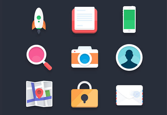 flat_icons_vol2_psd