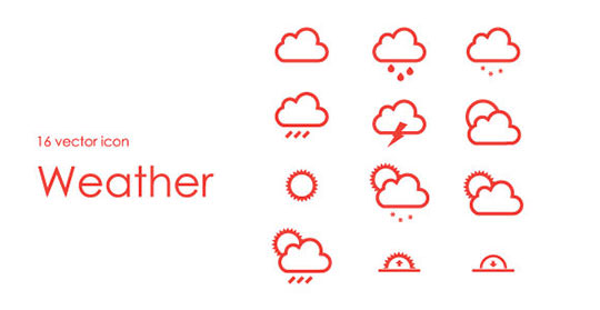 16-vector-weather-icon-free-psd