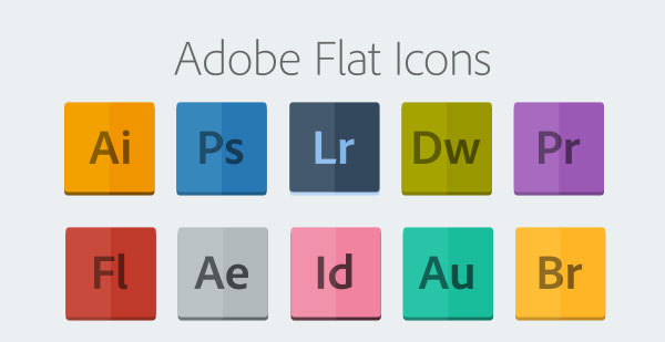 Adobe_Flat_Icons