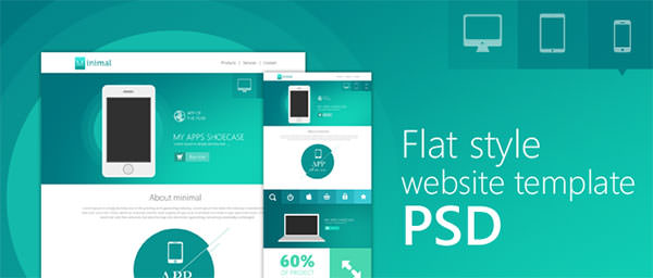 Flat-Style-Website-Template-PSD-for-Free-Download-cssauthor.com_-650x277