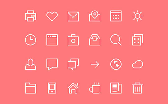 thin-stroke-icons-psd