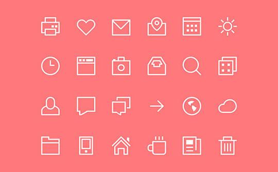 thin-stroke-icons-psd