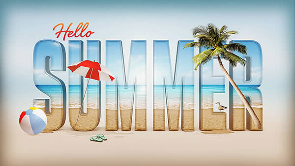 Create_a_Summer_Inspired_3D_Text_Effect_in_Photoshop