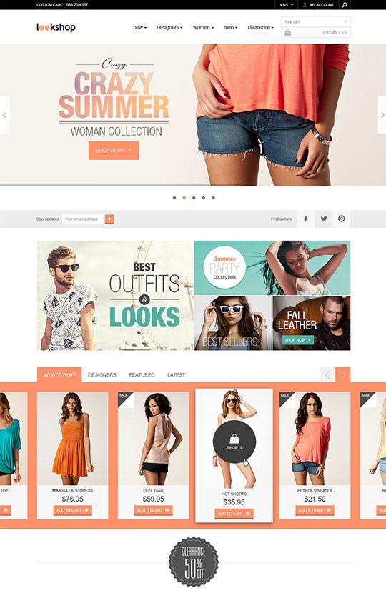 LookShop-Free-Responsive