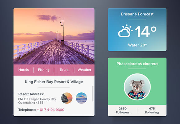 widgets-set-psd
