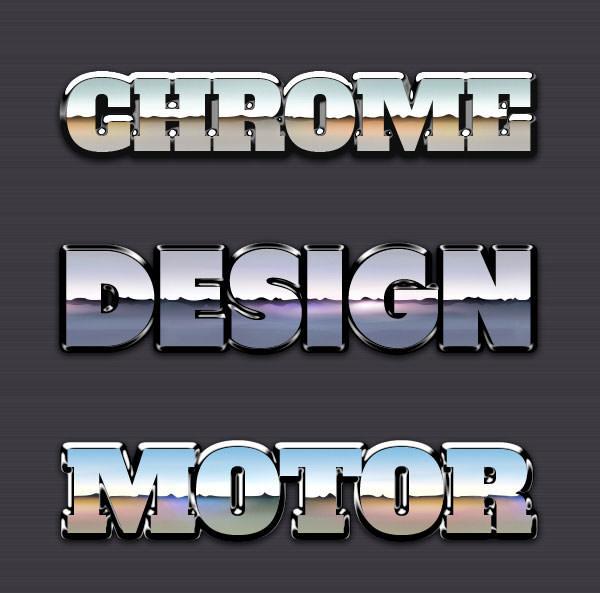 Chrome-Reflection-Text-Styles-Vol-1-600