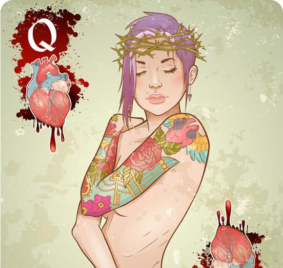 Tattoo_girl_vectortuts_600wide