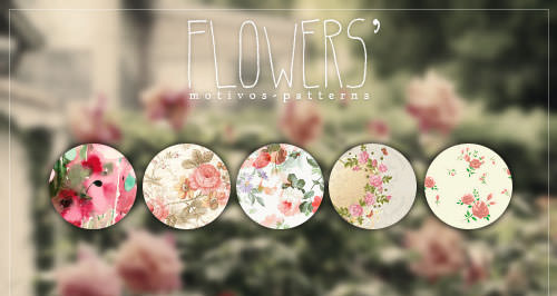 flowers___patterns_by_ihavethedreamersdise-d6c65fh