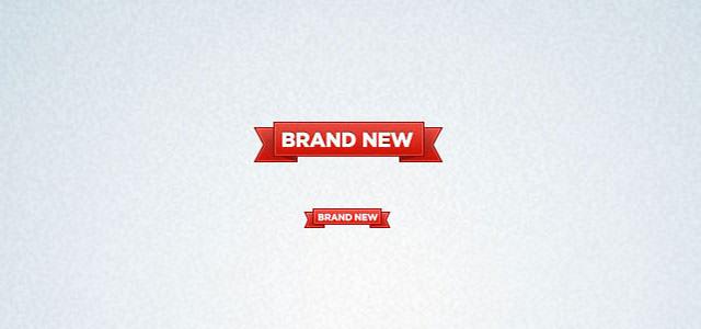 Brand-new-ribbon