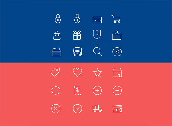 24-Ecommerce-Line-Icons