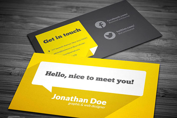 Flat-Design-Business-Card-Template-With-Long-Shadow