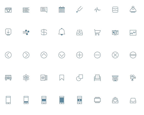 Line-ICONSET-Free-Download