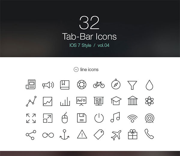 Tab-Bar-Icons-iOS-7-Vol4