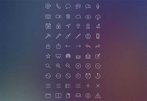 iOS-7-Inspired-Line-Icons