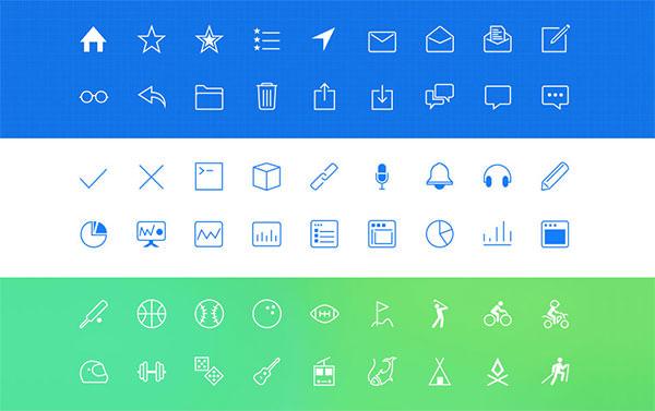 iOS-7-line-icons