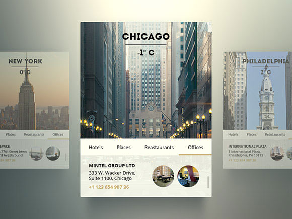 us-city-widget-psd