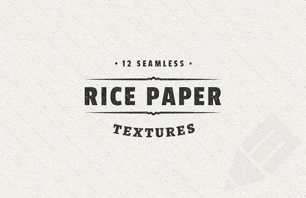 紙そのものの質感を表現!継ぎ目のない無料パターンテクスチャセット「Rice Paper Textures」