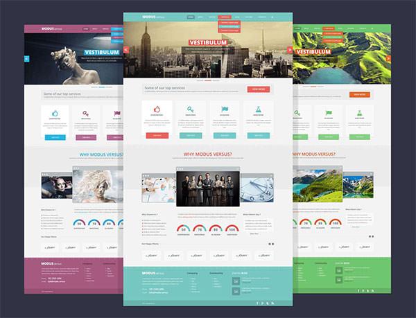 webサイト制作の参考に 高品質フリーwebテンプレートpsd素材まとめ