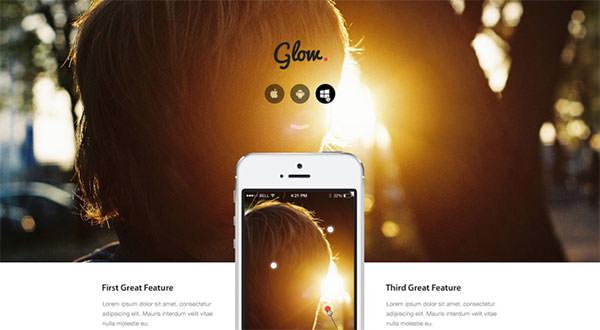 glow-psd-theme