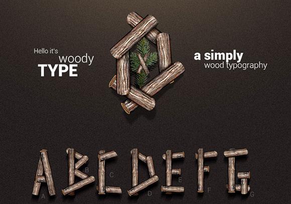 woodytype