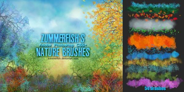 zummerfish_s_nature_brushes_by_zummerfish-d601e4q