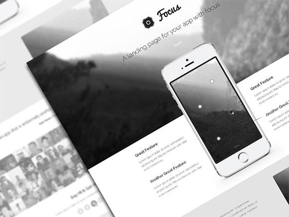 focus-psd-theme-freebie