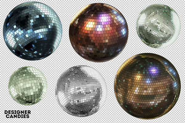 free-mirror-ball-renders-png