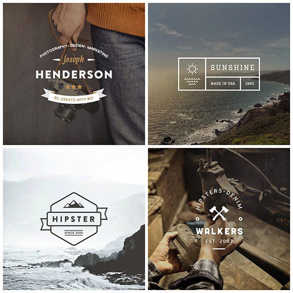 free_vintage_logo_psd_typography_hipster