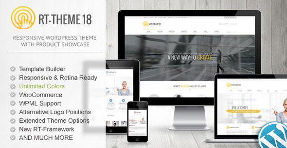 RT-Theme 18 Responsive WordPress Theme - Themeforest