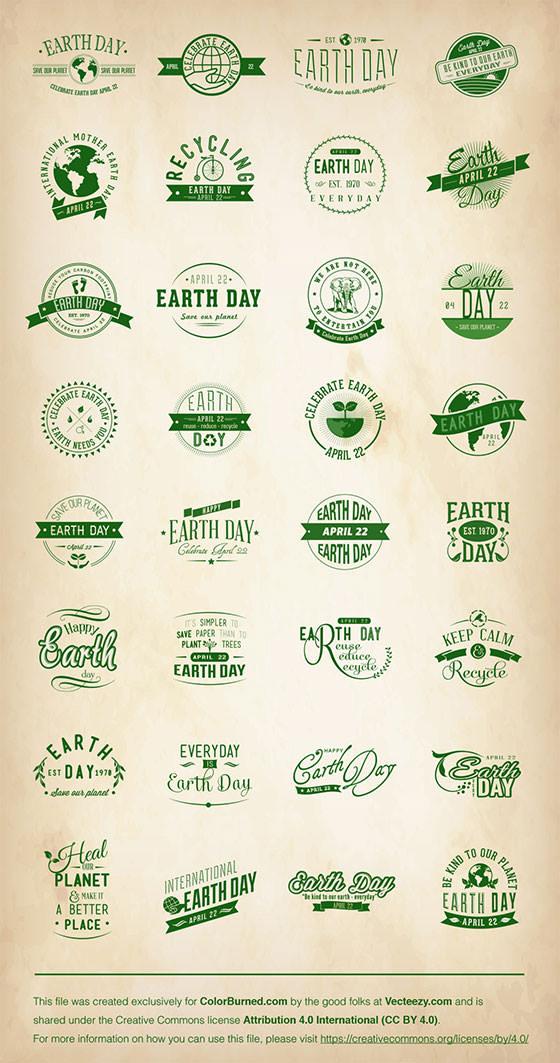 Earth-Day-Vectors